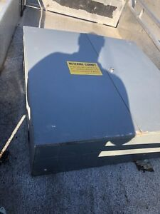 Electrical 600 volt metal cabinet 36/36 inch