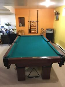 Pool table all original, refurbishing not required