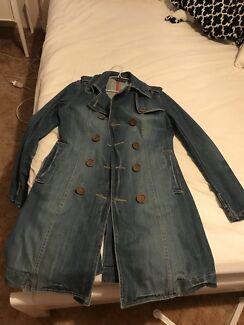 Grab denim ladies Medium Sized coat