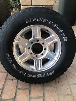 Dodge Ram rims and tyres