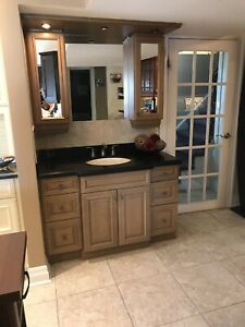Bathroom cabinetry for sale.
