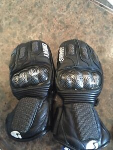 Swany leather race mitts