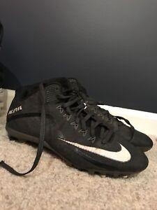 Nike football cleats. Size 12