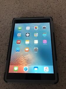 iPad mini 1st gen 64GB wifi + Cell  with pelican rugged case