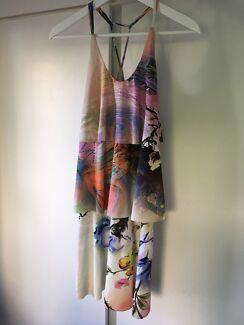 Size 7 Funky multi coloured dress