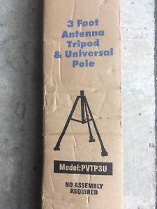 Antenna or dish tripod
