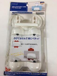 Tissue box clipper + IKEA 2boxes tissue