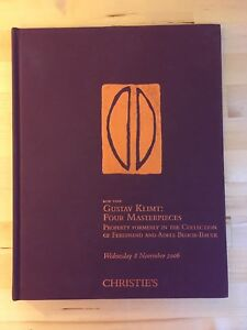 Gustav Klimt Catalogue d'enchères Christie's 2006 AuctionCatalog