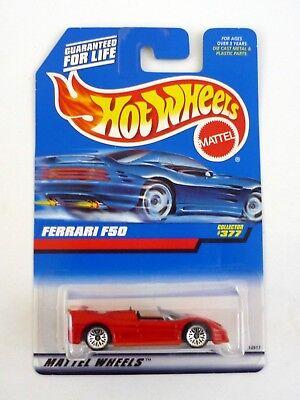 HOT WHEELS FERRARI F50 #377 Die-Cast Car MOC COMPLETE 1997