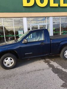 2004 GMC Canyon regular cab 2.8 5spd/ sell for 3500$/or trade