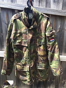 Army Jacket, Dutch Army parka coat Waterproof Liner & Fleece Liner Pascoe Vale Moreland Area Preview