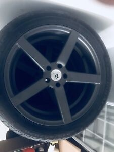 """20"""" Rims and tire set x4"""