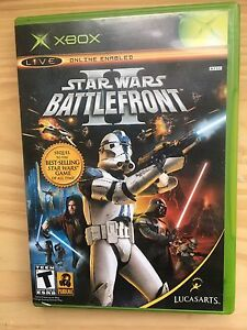 Original Xbox Star Wars Battlefront 2