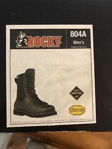 Black Hunting Boot Work Boot Rocky Brand Gore-Tex