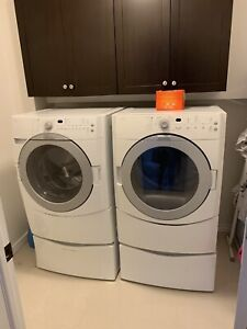 KitchenAid Front Load Washer and Dryer