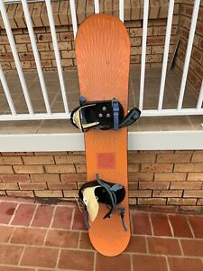 Burton snowboard with bindings Baulkham Hills The Hills District Preview
