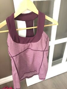 Purple size 6 Lululemon top