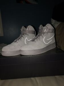 Nike Air Force 1 high grey sued's