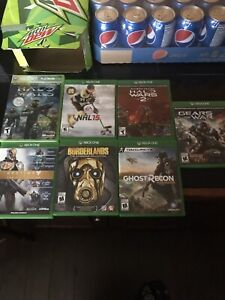 Selling Xbox games and headset