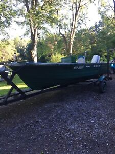 BOAT, MOTOR, AND TRAILER