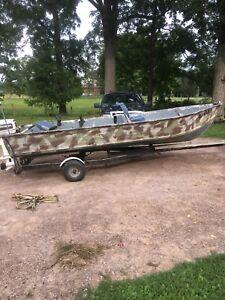 16 ft aluminum boat