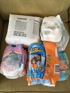 Diapers, Pull-Ups and Little Swimmers