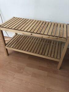 Wooden Shoe rack/bench