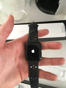Apple watch series 2 nike edition (like brand new)