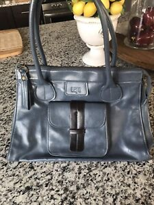 Grey and Brown purse