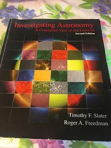 Investigating Astronomy A Conceptual View Of The Universe
