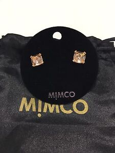 Mimco rose gold earrings Newcastle Newcastle Area Preview