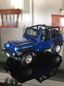 Jeep Wrangler Rubicon Special Edition 1:18 diecast model