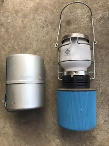 Camping gas lantern light and cooker