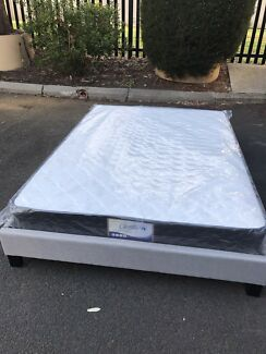 Wanted: Brand new medium firm mattress with bed base frame D$290,Q$320