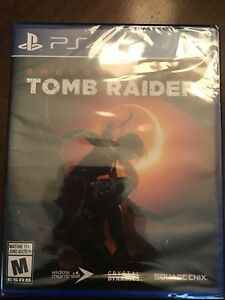 Brand New Shadow of The Tomb Raider PS4