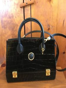 EUC Authentic Due Fratelli Leather Purse Bag