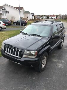 2004 Grand Cherokee Limited 4.7L V8 w/extra rims