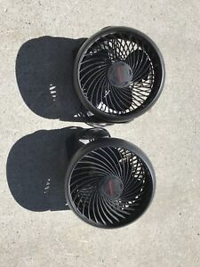 Fans with adjustable speeds