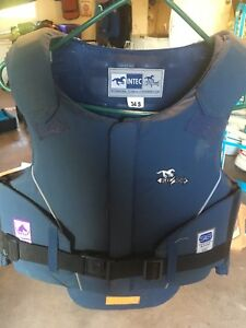 Horse back riding crash vest