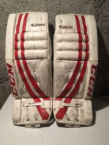 Goalie pads 32+1 ccm, with chest and pants and cup