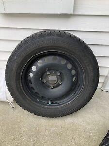 Gislaved 195/65/15 with rims for Jetta/golf winter tire