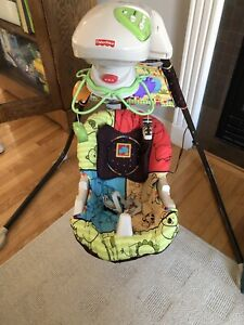 Fisher Price Swing - front to back / side to side