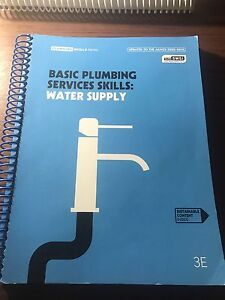 2nd yr TAFE Plumbing Textbook Cecil Hills Liverpool Area Preview