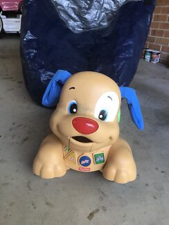 Fisher price ride on dog