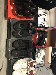 Jordans and Nikes size 8.5-9 sale