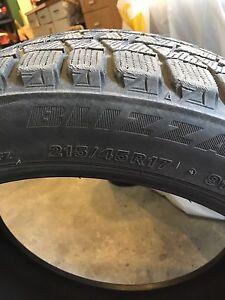 """4 pneus 17"""" 215/45R17"""