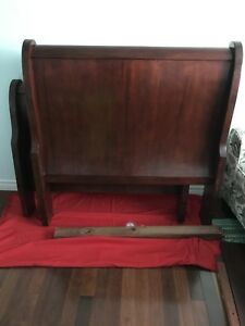 Single Size Sleigh Bed -Reduced to $150