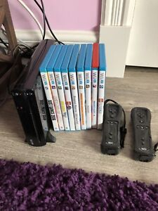 Wii U console, games and extra controllers