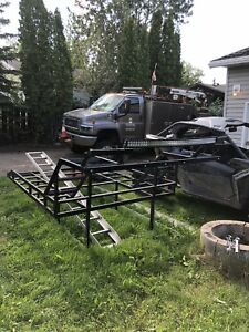 Side by side deck for ford