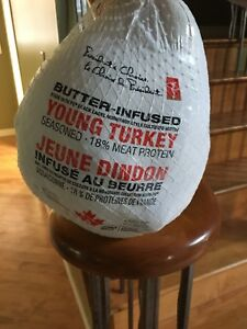 Frozen turkey - unwanted gift